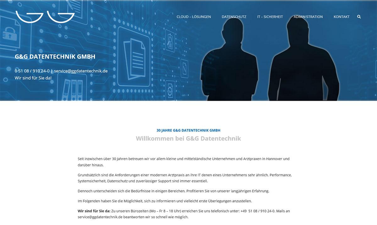 Webdesign: G&G Datentechnik GmbH